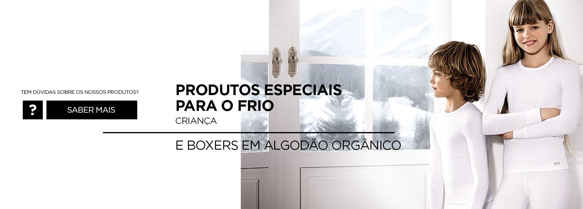 ROUPA DE INVERNO termicos e boxer organico