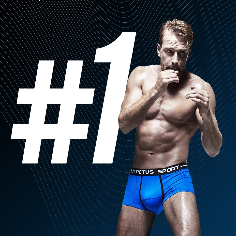 Ergonomic boxers for sportsman | Impetus Underwear