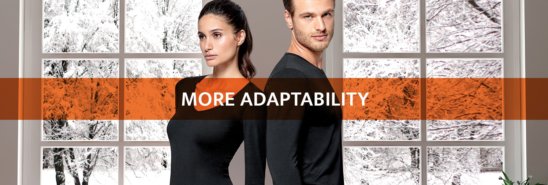More elasticity | More adaptability | More mobility | More comfort | Thermal underwear_1