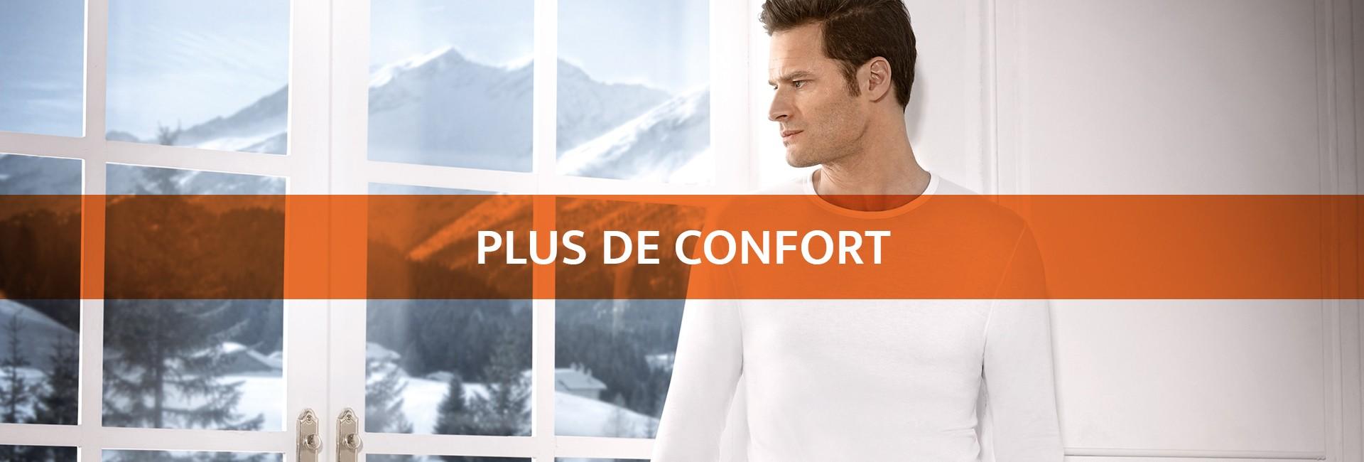 Plus d'élasticité | Plus d'adaptabilité | Plus de mobilité | Plus de confort | Sous-vêtement thermiq_2