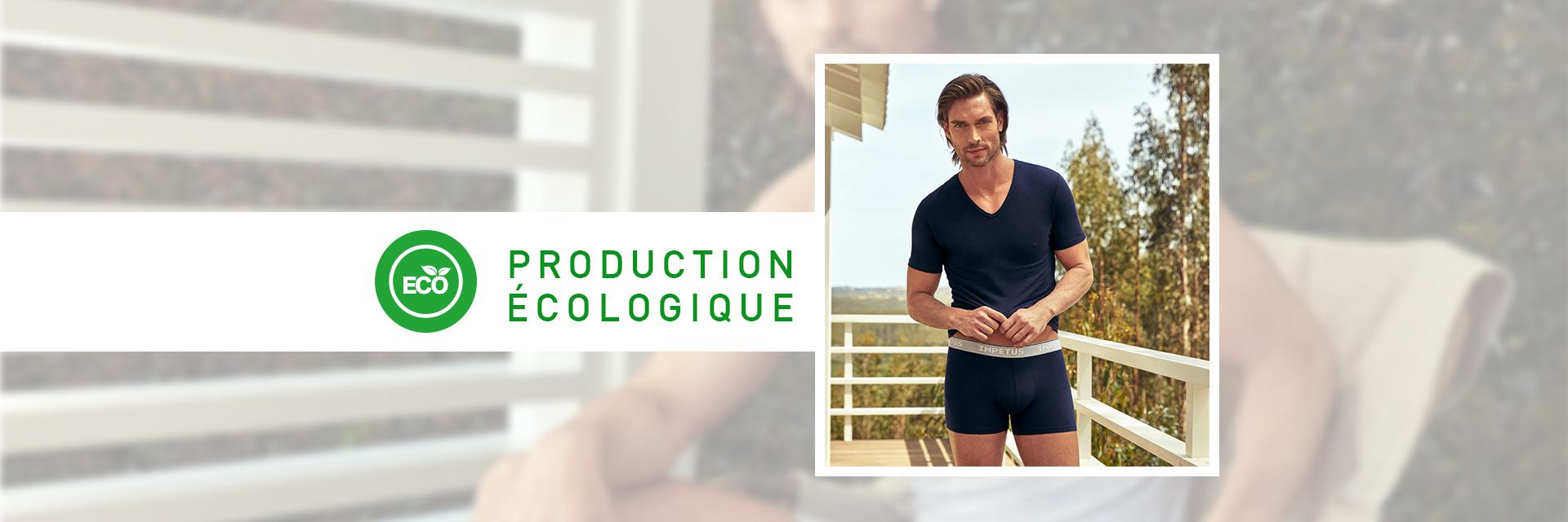 Collection de sous-vêtements à base de fibres organiques | Sous-vêtements Impetus_1