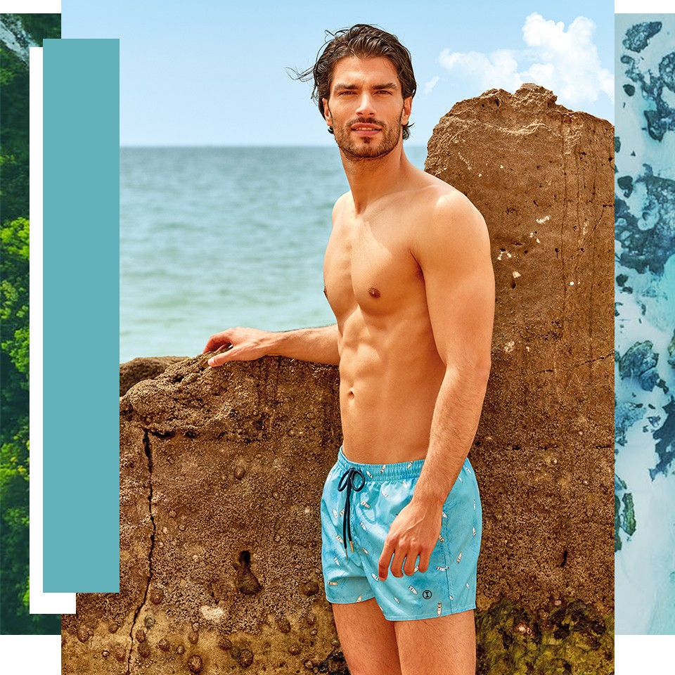Shorts with patterns, ideal for your holidays. | Impetus Underwear
