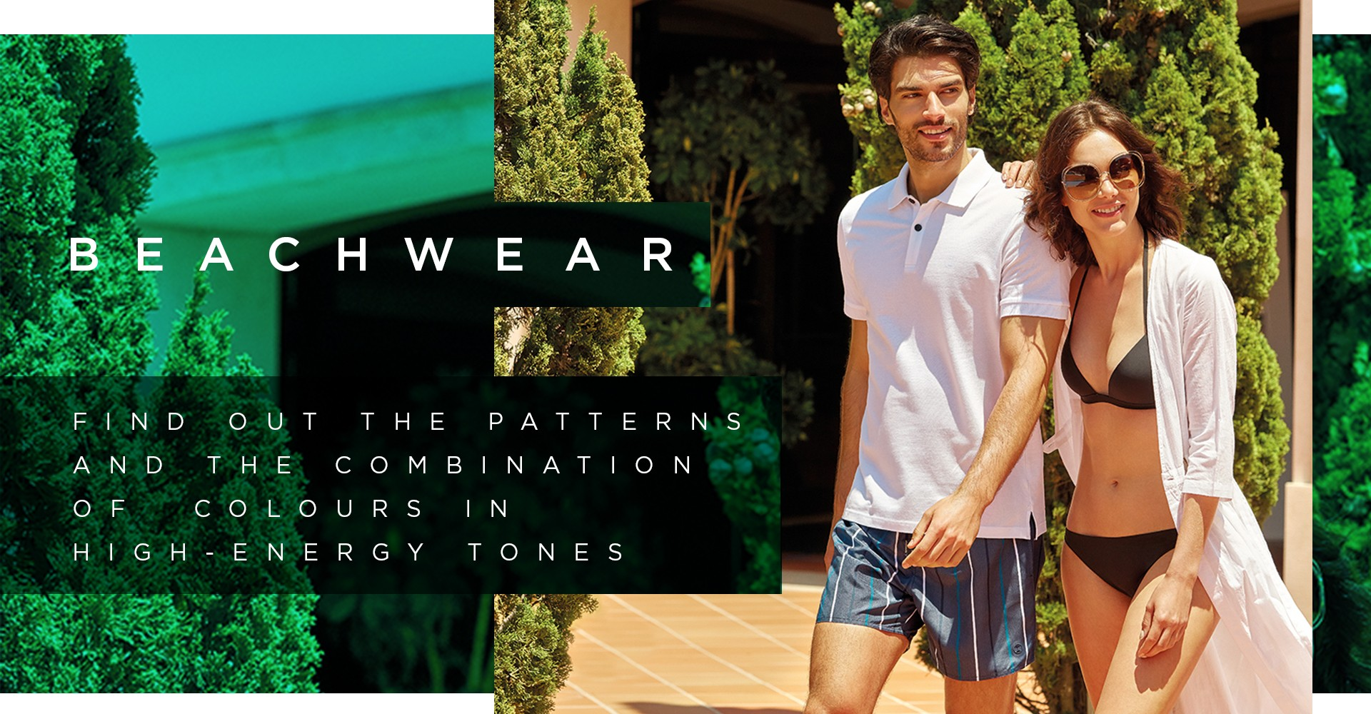 Beach pants and shorts with summer colors and patterns. Discover them at the Impetus online store.