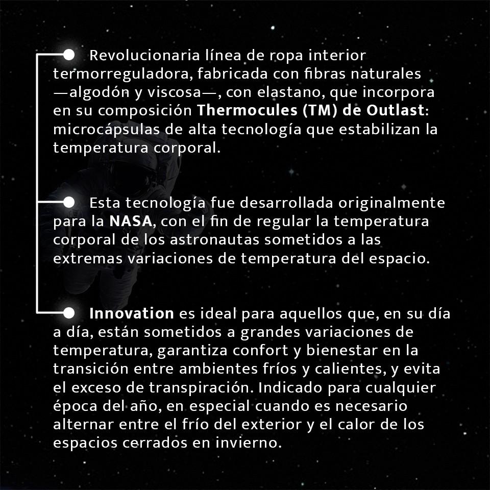 Gama Innovation | Ropa interior reguladora de temperatura | Impetus