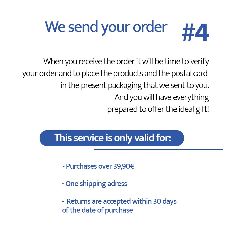 Sending the order with the gift box | Impetus Underwear online store