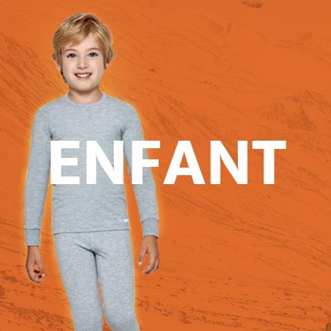 Sous-vêtement thermique pour garçons et filles | Impetus