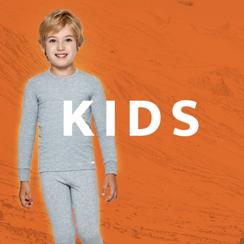 Thermal underwear for boys and girls | Impetus
