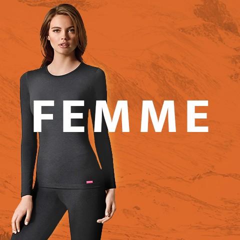 Sous-vêtement thermique pour femme | Impetus