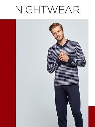 Pijamas | Nighwear e Homewear | Homem | Impetus_1