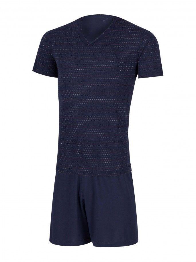 Pyjama Jacquard - Havana
