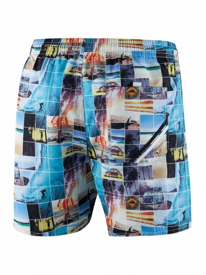 Swim Shorts - Sunset