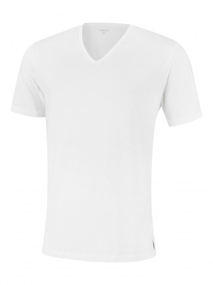 V-neck T-shirt Pure Cotton