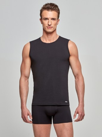 Singlet Cotton Stretch
