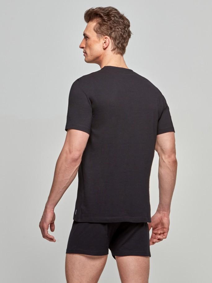 T-shirt decote V Pure Cotton
