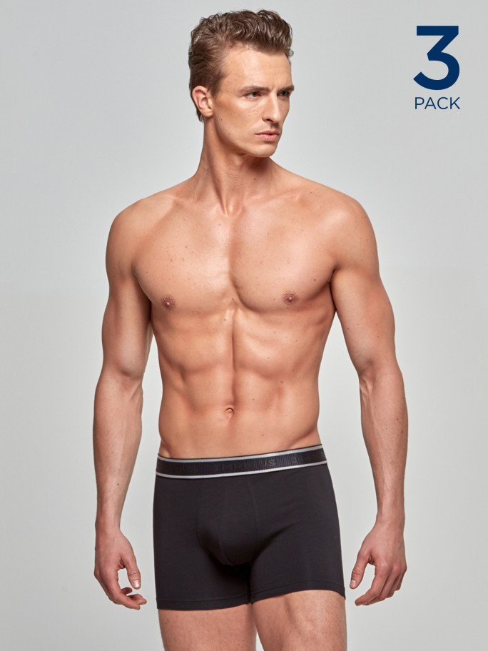 3 Pack Boxers Cotton Stretch