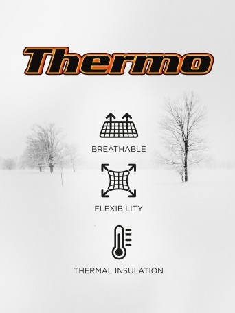 Thermo v-neck T-shirt