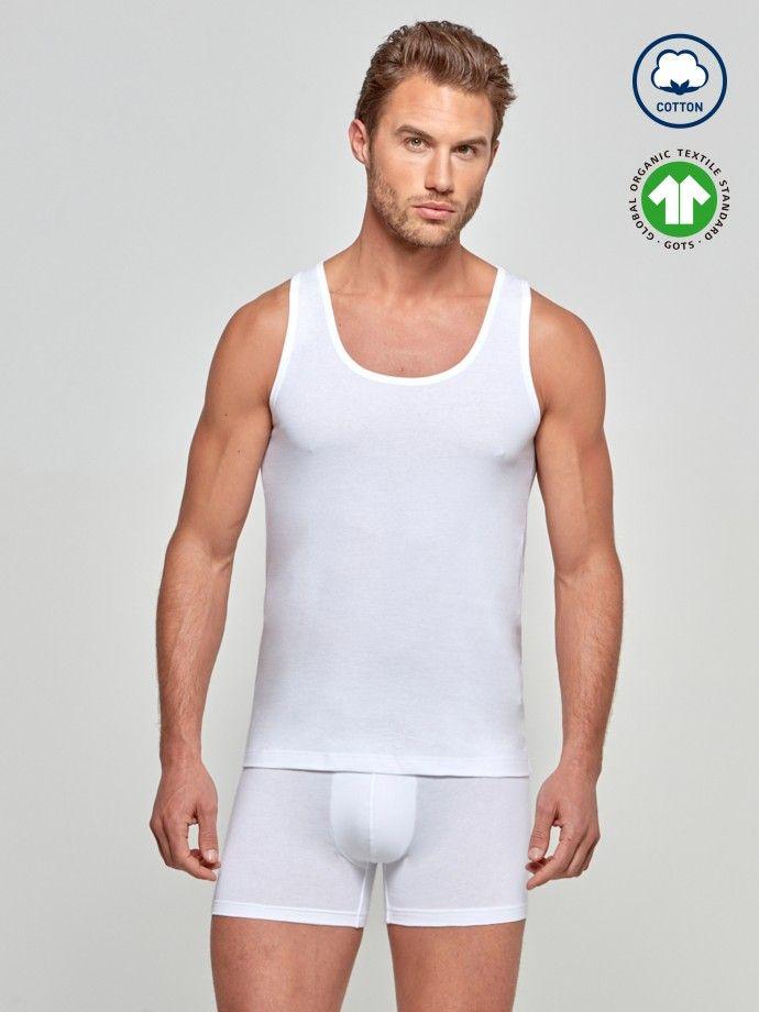 Camiseta sin mangas Cotton Organic