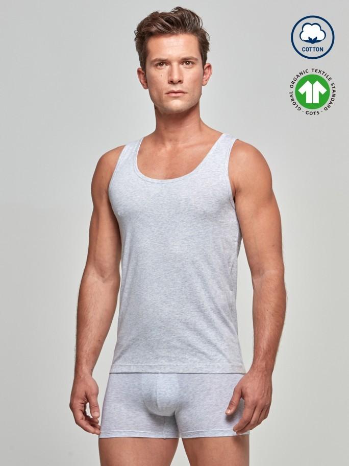 Singlet Cotton Organic