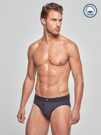 Brief Stripes - Cotton Stretch