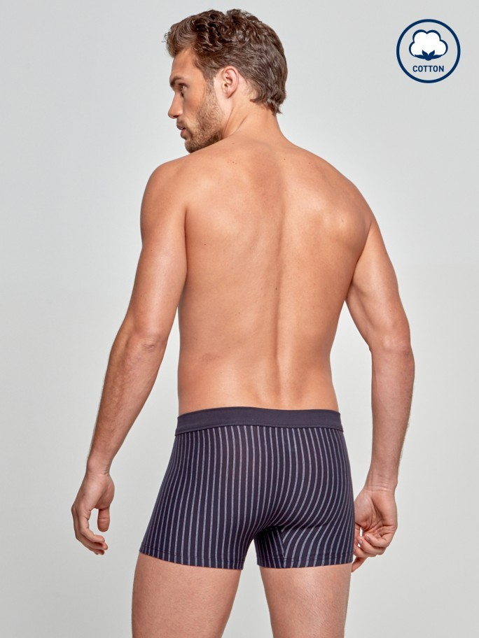 Boxer Rayures - Cotton Stretch
