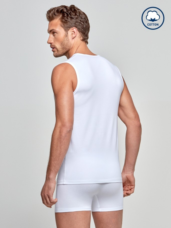 Débardeur Cotton Stretch