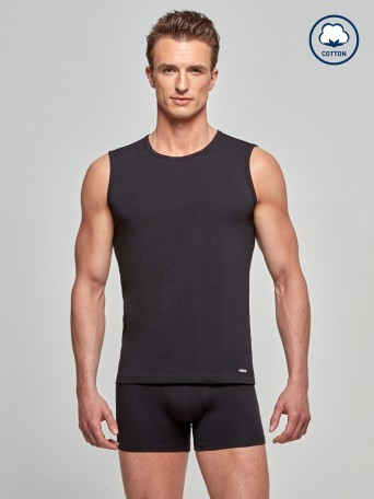 Tank Top Cotton Stretch