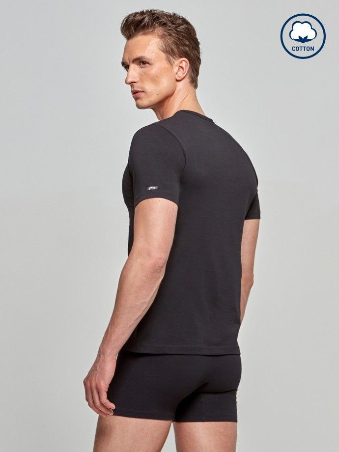 T-Shirt-Cotton Stretch