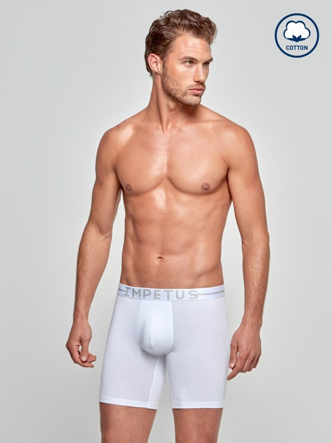 Boxer Longo Cotton Stretch