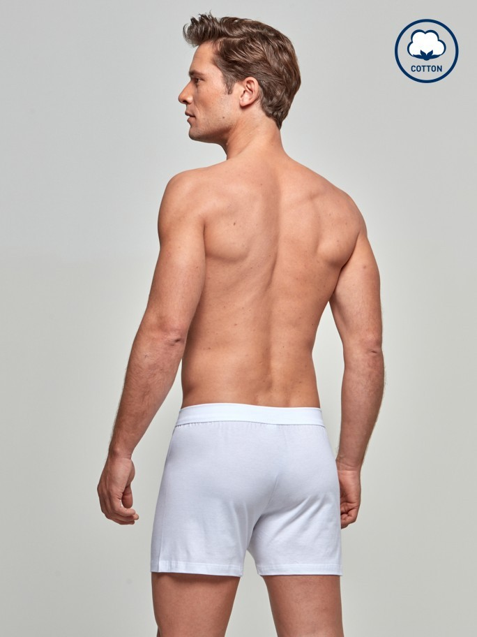 Boxer boutonné Pure Cotton