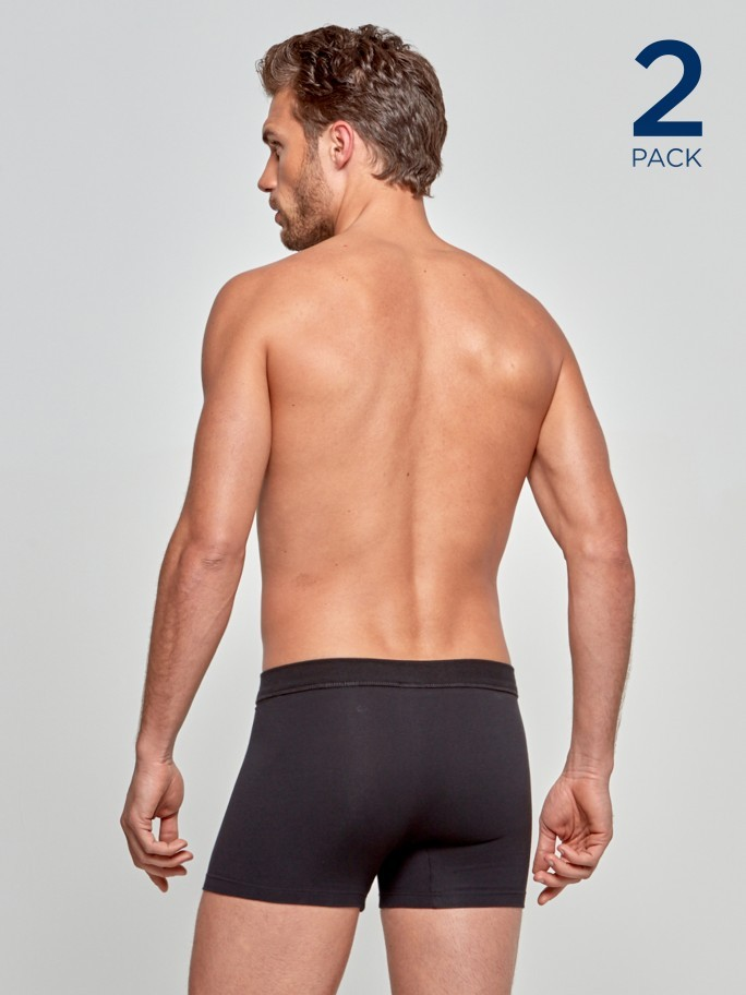 2 Pack Boxers Cotton Stretch