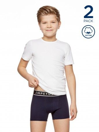 2 Pack Boxers Junior