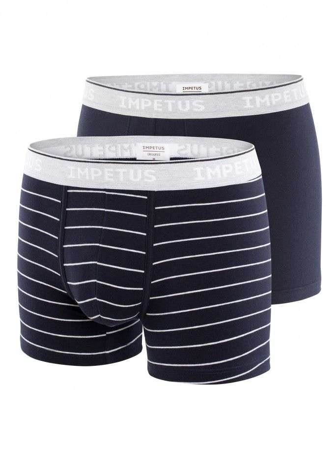 Lot de 2 boxers Cotton Organic