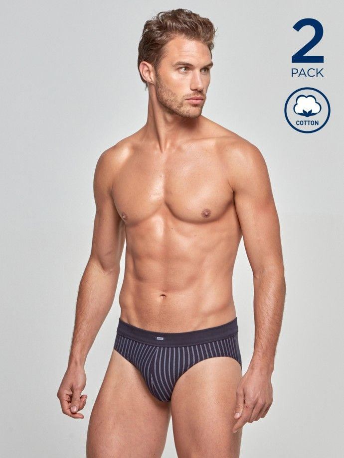 Pack 2 Slips Cotton Stretch