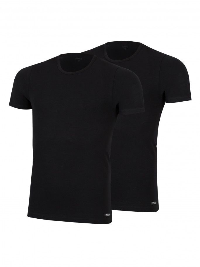 Pack 2 T-shirts Cotton Stretch