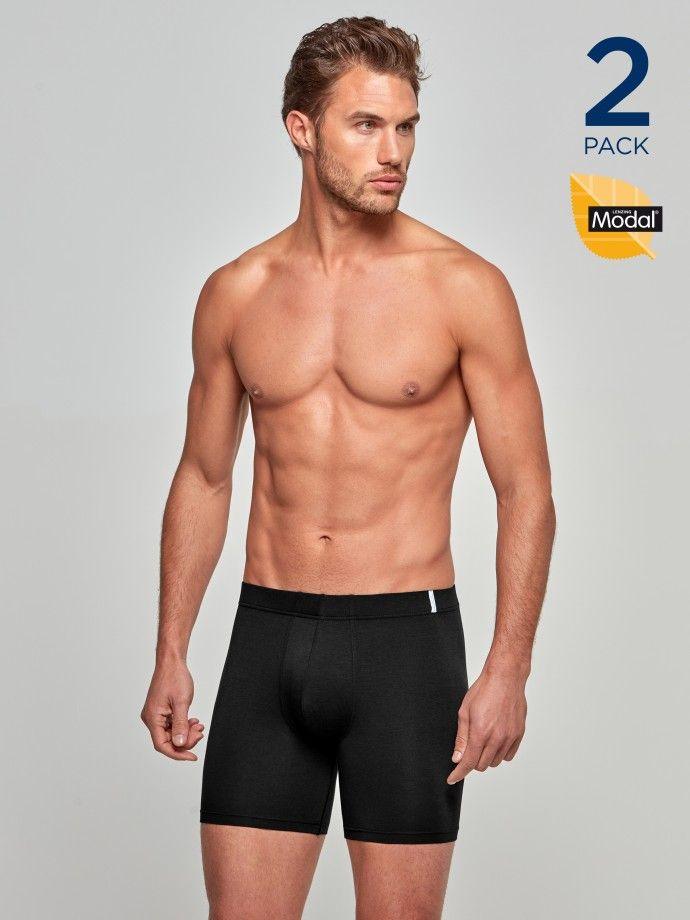 Pack 2 Boxers Cotton Modal