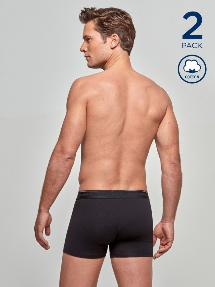 Pack 2 boxers Cotton Stretch