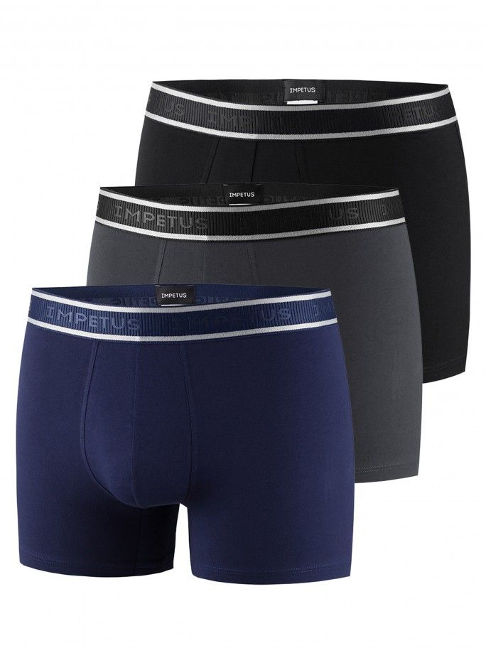 Pack 3 Boxers Cotton Stretch