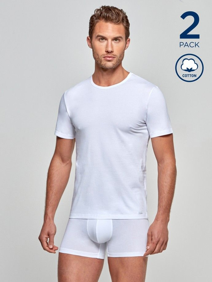 Pack 2 t-shirts Cotton Stretch
