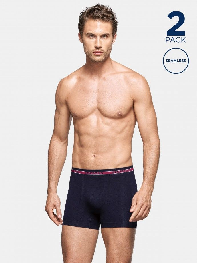 2 Pack Seamless Boxers - G67