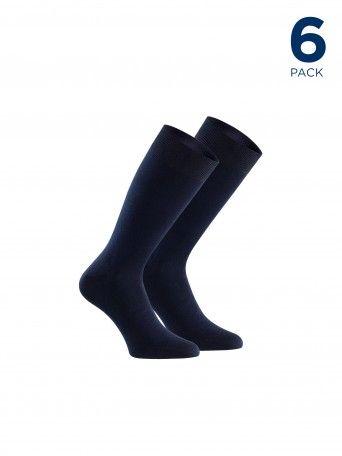 Pack 6 Calcetines Lana