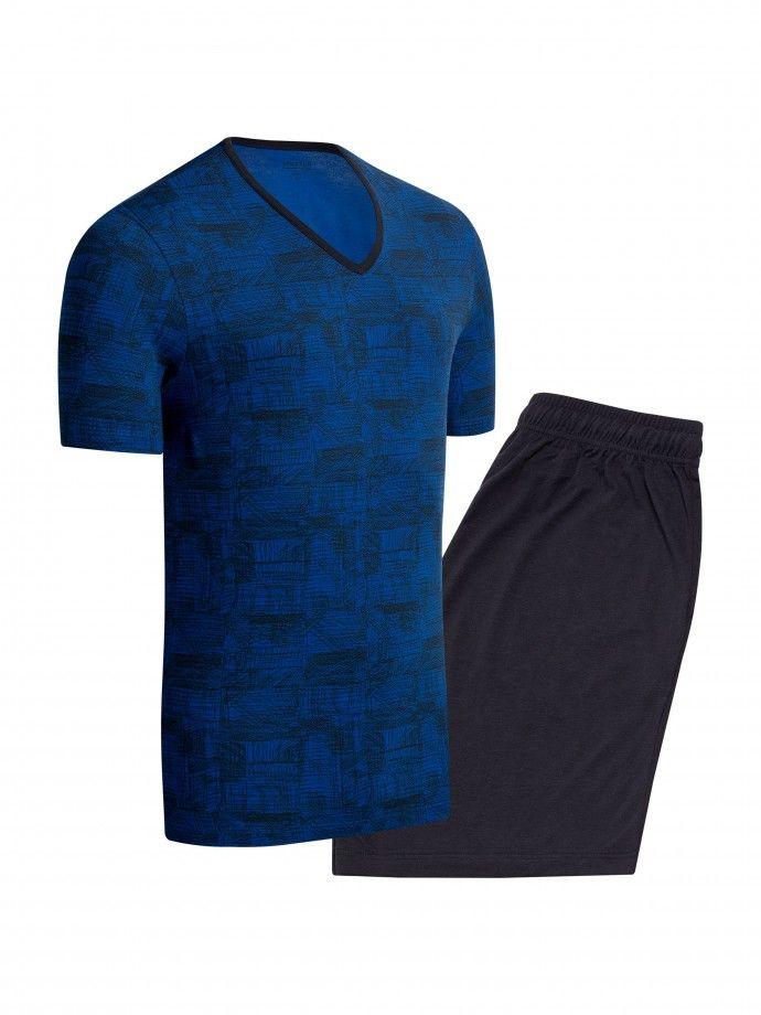 Pyjama Abstract Print -G97