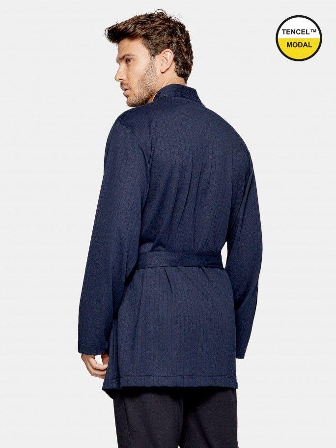 Robe Curto Canelado - H04