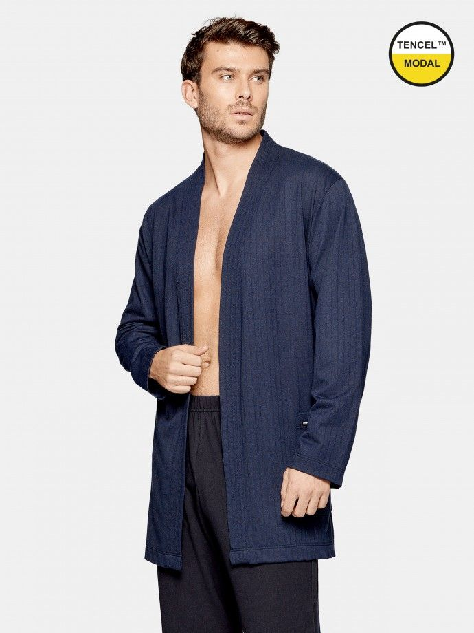 Ribbed Dressing Gown - H04