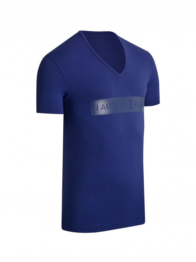 V-neck T-shirt Genuine