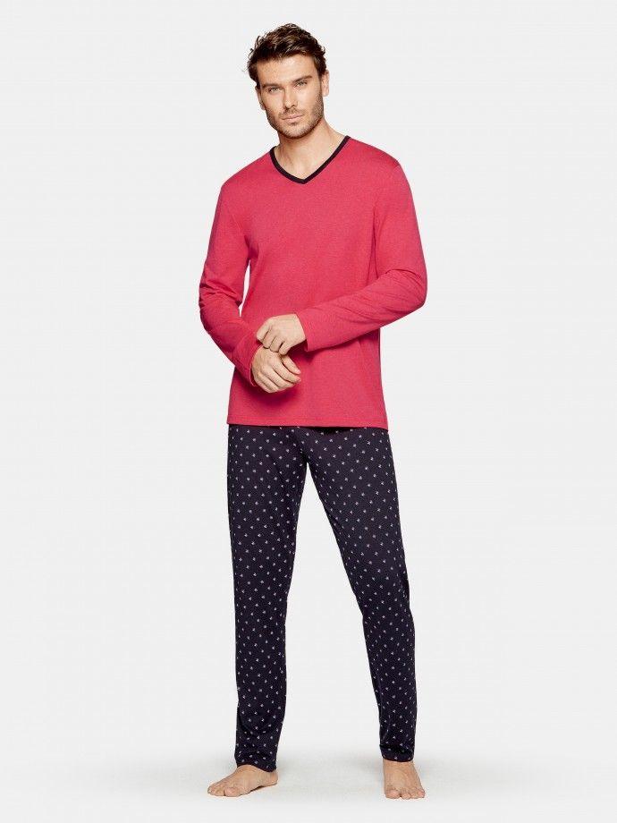 Pyjama flower print - G89