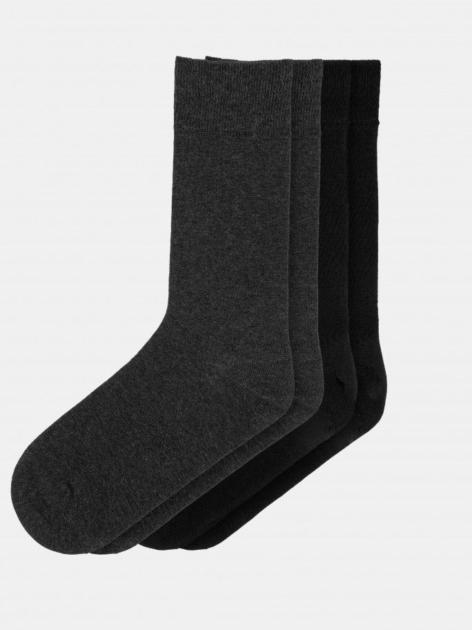 2 Pack Cotton Socks