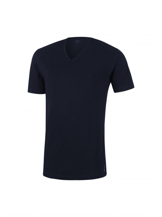 T-shirt Cuello V Pure Cotton