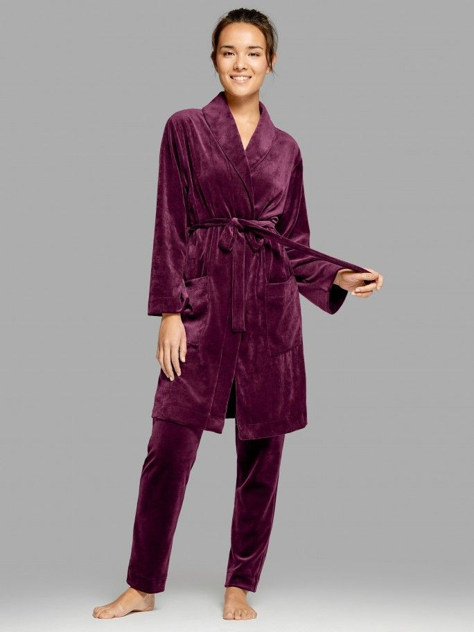 Dressing Gown Velour