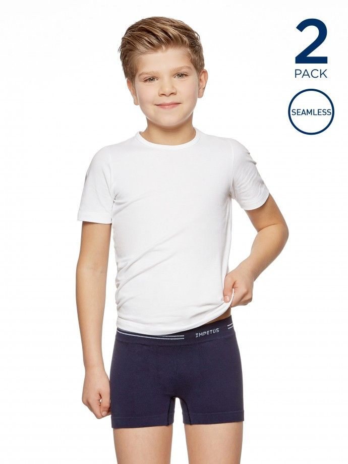 2 Pack Boxers Seamless Junior