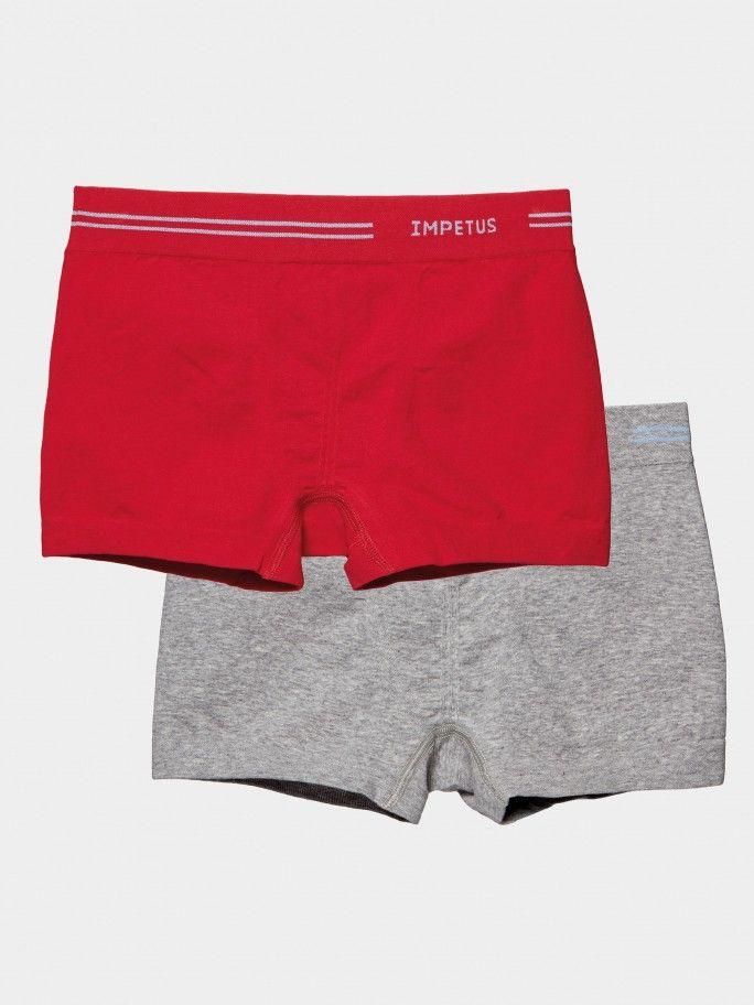 2 Pack Boxers Seamless Junior